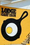 Lodge Skillet Sign