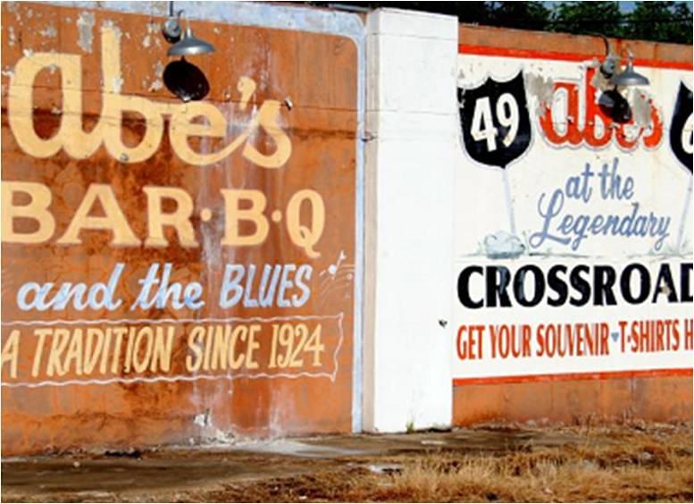 Abes BBQ sign
