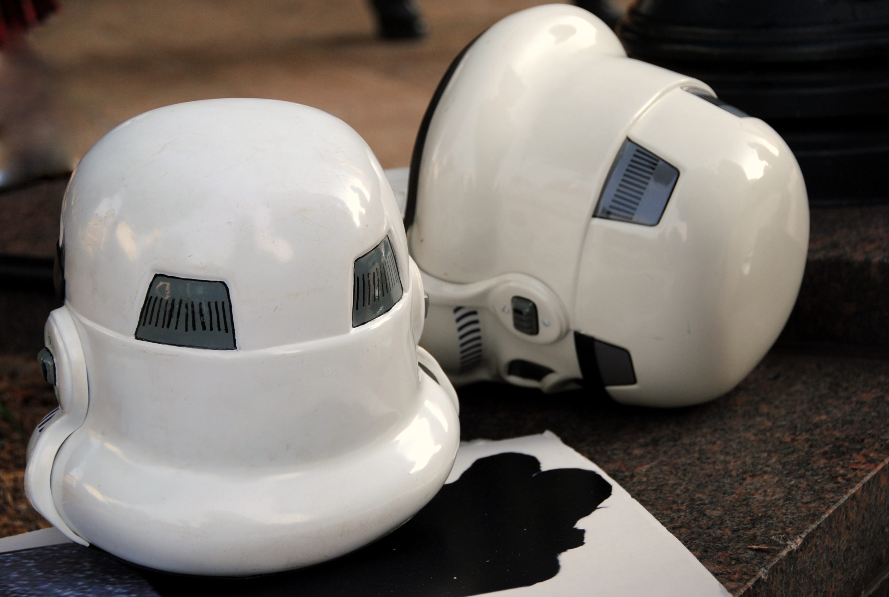 Star Wars Storm Trooper Helmets