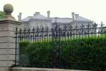Gated Mansion on Newport Cliff Walk