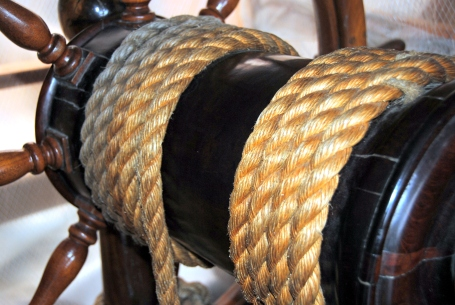 Mystic Seaport helm