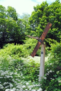 Berkshires rusted sign