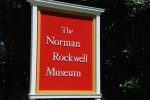Norman Rockwell Museum sign