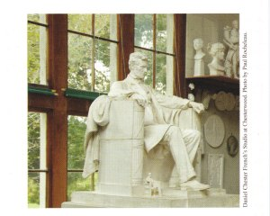 Model of Lincoln Memorial at Chesterwood