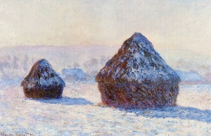Monet Haystacks at the Shelburne Museum
