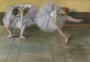 Degas-two-dancers at the Shelburne Museum