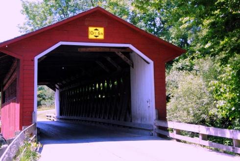 Covered bridge Bennington Cty VT