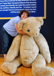 Paula and the Vermont Teddy Bear