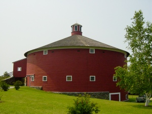 Round Barn housing Carousel at Shelburne Museum