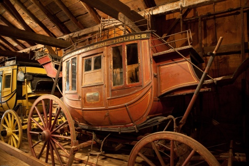 Stagecoach at Shelburne Museum