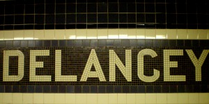 Delancey Street, NY, New York, NYC, Crossing Delancey, subway