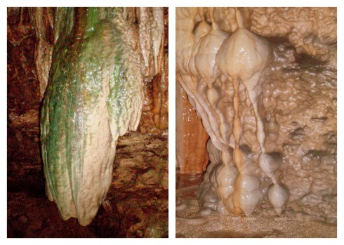 Formations at Linville Caverns