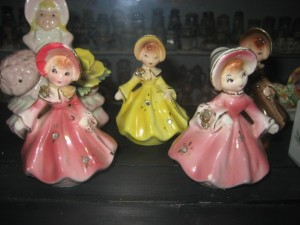 Southern Belle Salt & Pepper Shakers